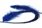 peříčko grizzly-extra modro-černé
